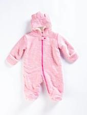 EGG Pink Bear Snow Suit