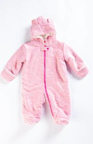 EGG Pink Bear Snow Suit