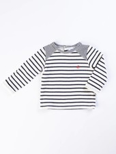 Petit Bateau Long Sleeve Striped Shirt