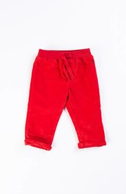 Petit Bateau Red Corduroy Pants