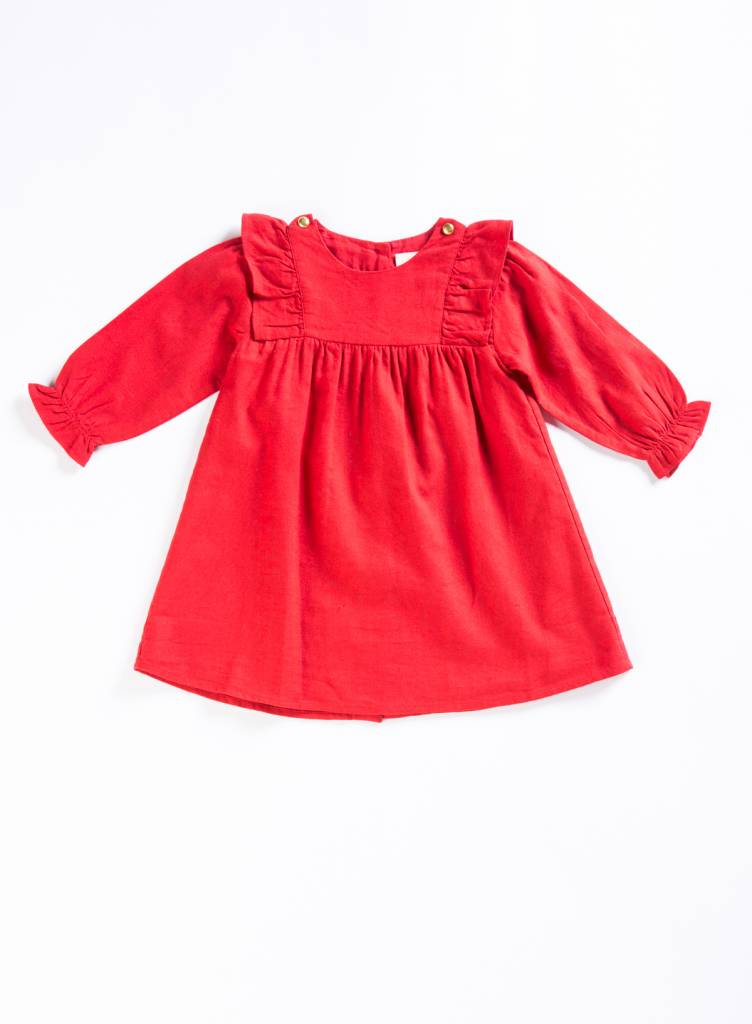 Louis Louise Red Apoline Dress