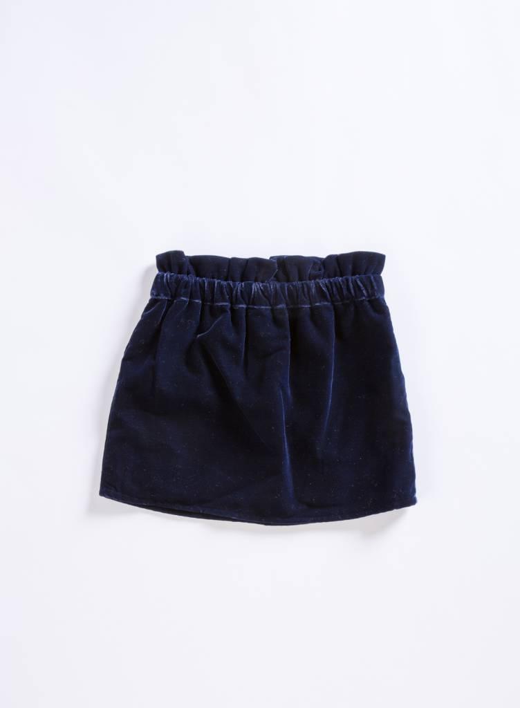 Louis Louise Velvet Kiki Skirt
