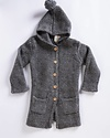 Louis Louise Jane Hooded Sweater Coat