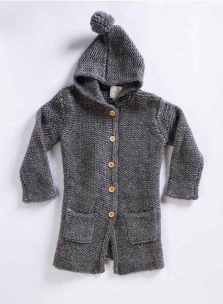 Louis Louise Jane Hooded Sweater Coat
