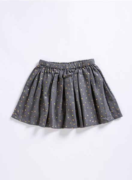 Louis Louise Minette Gold Dot Skirt