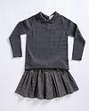 Louis Louise Minette Gold Dot Skirt