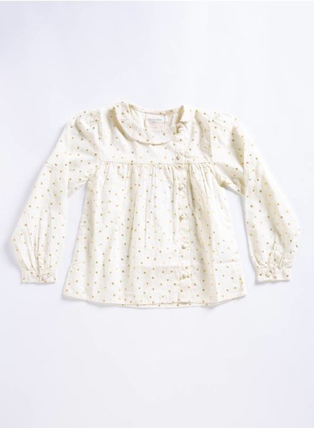 Louis Louise Melissa Gold Dot Tunic