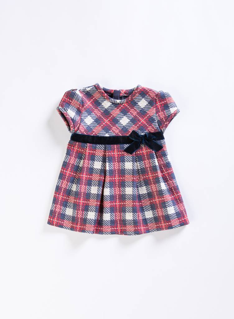Mayoral Navy Flannel Dress