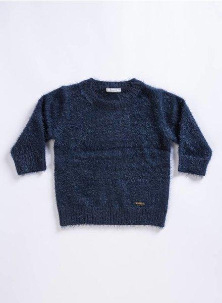 Mayoral Eclipse Fur Sweater