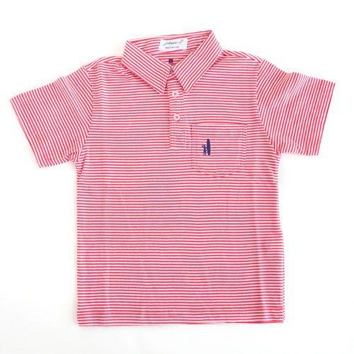 Johnnie-O Johnnie-O Watermelon Striped Polo