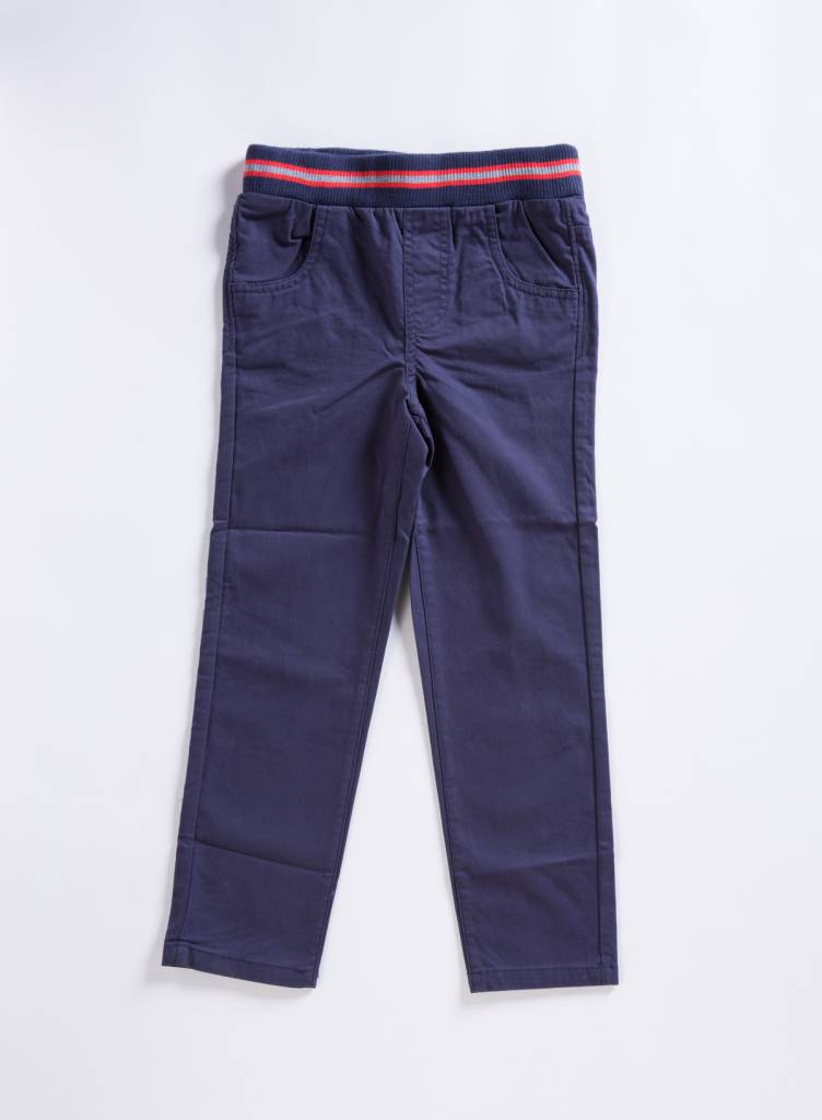 EGG Navy Ethan Twill Pant
