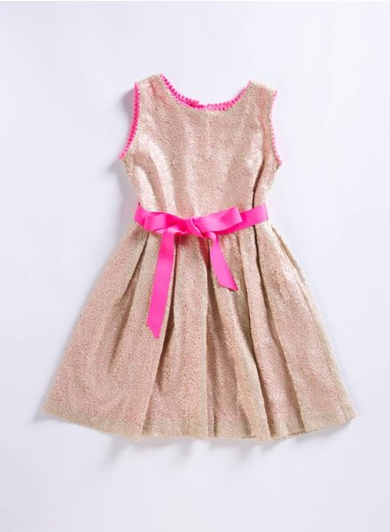 Holly Hastie Gold Sequin Dress