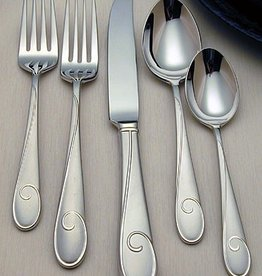 Waterford Flatware Ballet Ribbon Matte 5-Piece Place Setting