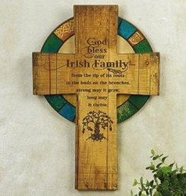 Irish Tree of Life Cross