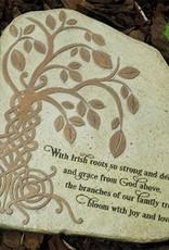 Tree of Life Garden Stone