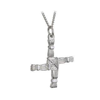 S/S St. Brigid's Cross Pendant