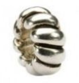 Sterling Silver Rope Spacer Bead