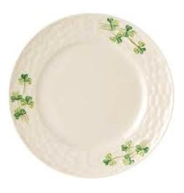 Belleek Shamrock Side Plate