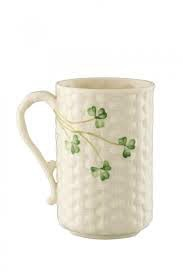 Belleek  Gaelic Coffee Mug