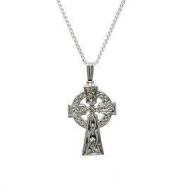 Boru Jewelry Silver Double Sided Cross