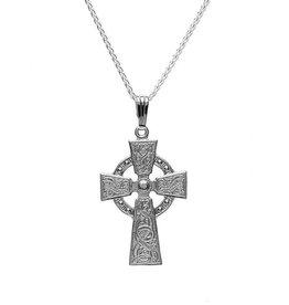 Boru Jewelry Celtic Warrior Shield Cross