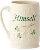 Belleek Himself Mug 12oz