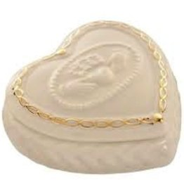 Belleek Claddagh Keepsake Box