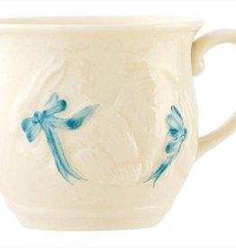 Belleek Bunny Baby Cup - Blue