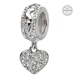 Origin SS SW Heart Dangle Bead