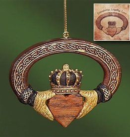 Claddagh Ornament & Card