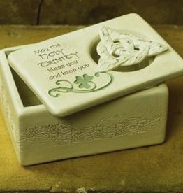 Holy Trinity Knot Trinket Box
