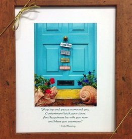 "Kinsale ""Happily Ever After"" Door Framed"