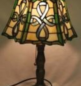Celtic Stained Glass Lamp