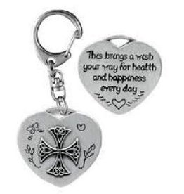 Health & Happiness Key Ring