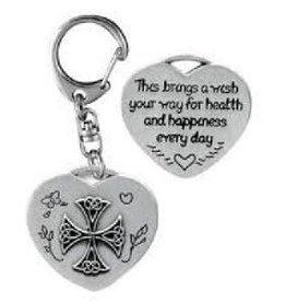 Health & Happiness Key Ring