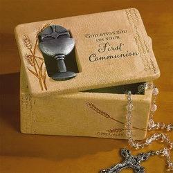 First Communion Trinket Box