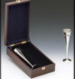 "Claddagh Wedding Flutes Boxed (10"" high)"