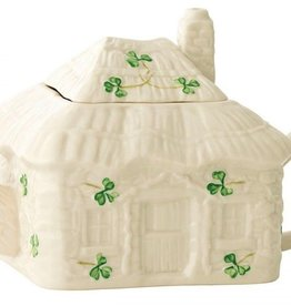 Belleek Irish Cottage Teapot
