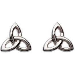 S/S Trinity Knot Stud Earrings