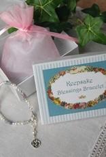 Keepsake Blessings Bracelet, Round Celtic Knot