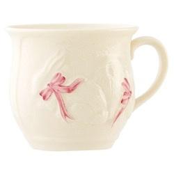 Belleek Baby Girl Bunny Cup