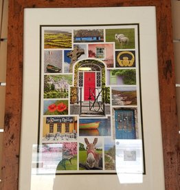 Mundo Images Ireland Mosaic Features Framed