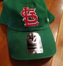 47 Brand Green Cardinal Baseball Cap