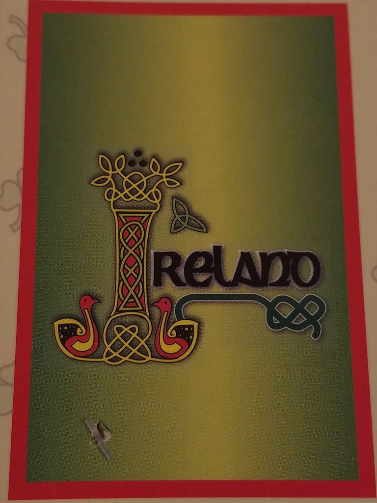 Tea Towel- Celtic Ireland