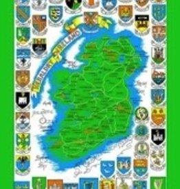 Tea Towel- Heraldry of Ireland