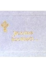 Note Cards- You're Invited w/ Gold Celtic Cross