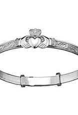 Silver Baby/Children's Bangle with Etching