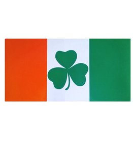 Ireland Flag w/ Shamrock Sticker