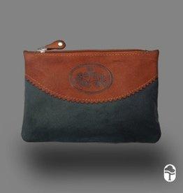 Tinnakeenly Leathers Ltd. Top Zip Purse