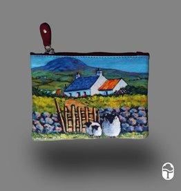 Tinnakeenly Leathers Ltd. Small Top Zip Purse